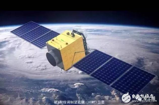 使我国进入空间观测新阶段的首颗大型X射线天文卫星...