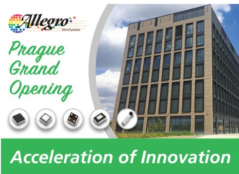 Allegro MicroSystems宣布在捷克设立新研发中心