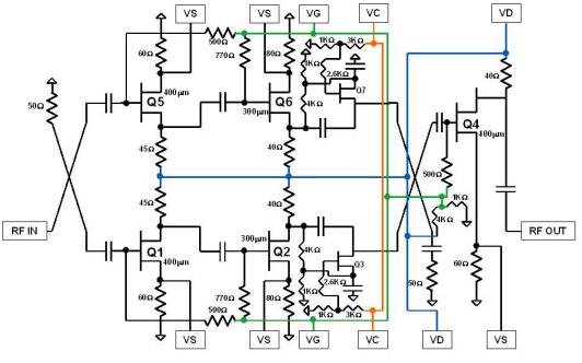 TGA2512 X波段低噪声放大器芯片的应用和详细数据手册免费下载