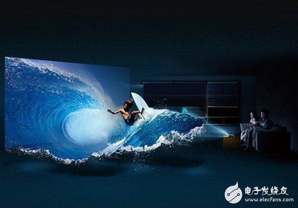 智能投影与传统电视对比,优势体现在哪里