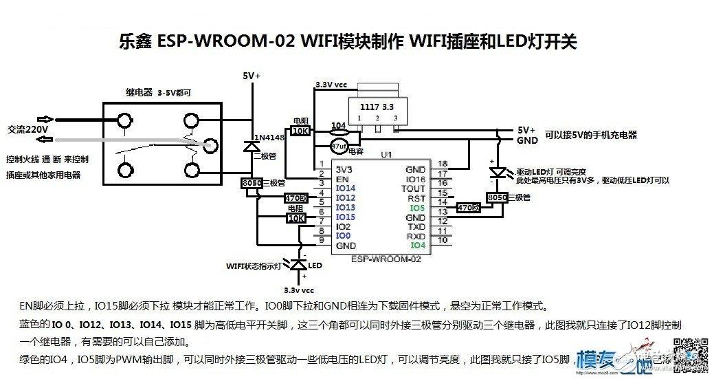 如何制作一个wifi开关插座?