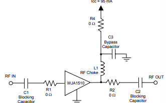 WJA1510有源偏置HBT增益放大器的详细资料免费下载