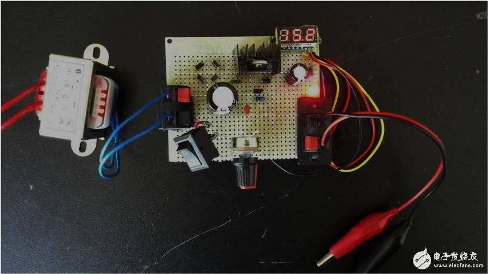 如何制作一个可调直流稳压电源?