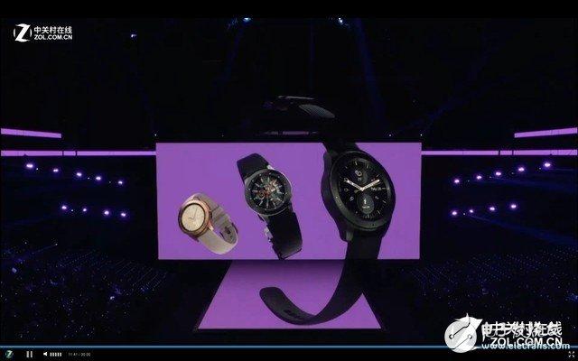 三星Note9发布之余Galaxy智能手表也隆重登场,支持无线充电和多种健康功能