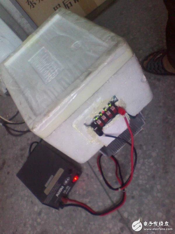 如何制作一个半导体制冷的冰箱?