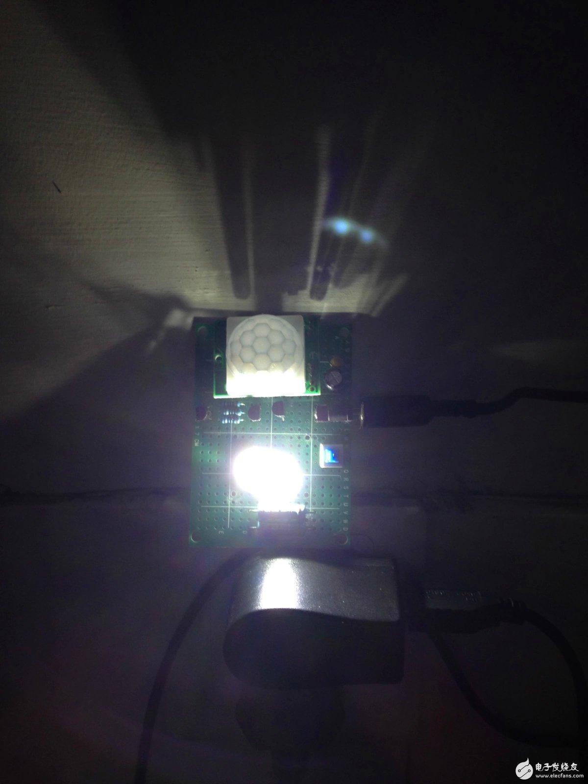 如何制作一个自制的人体感应小夜灯?