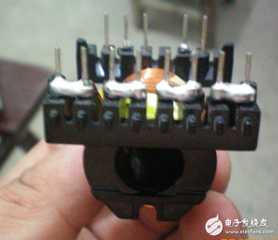 如何制作一个500W的单硅机板变压器?