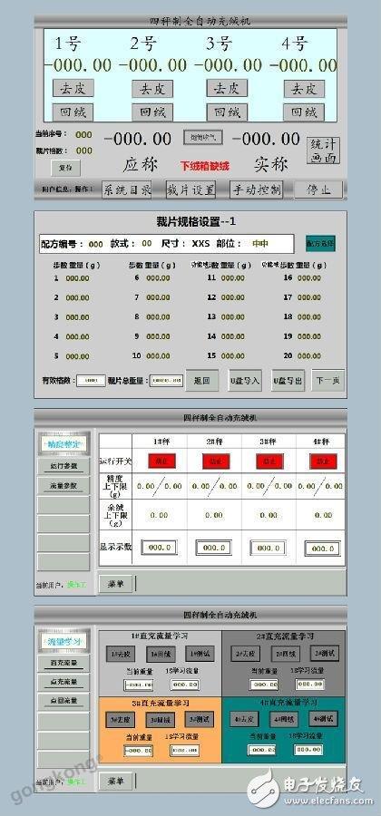 PLC为控制核心的全自动充绒机解决方案