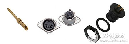 典型连接器焊接端接的图片