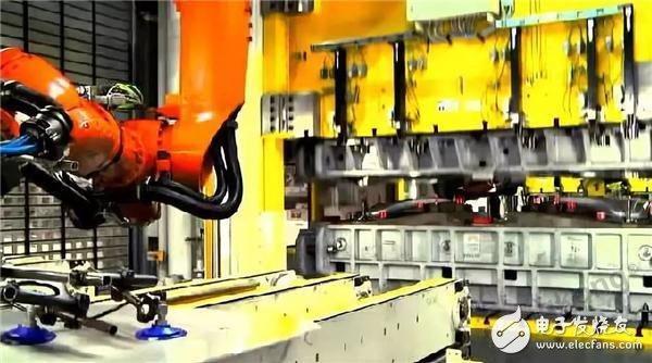 机器人在金属冲压行业生产自动化的实现