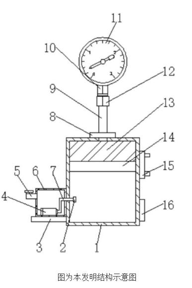【新专利介绍】一种防凝结耐高温的压力表