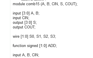 简谈FPGA verilog中的function用法与例子