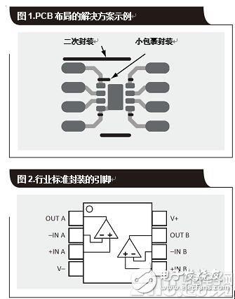 为降低成本的小型封装放大器二次封装替代零件选项