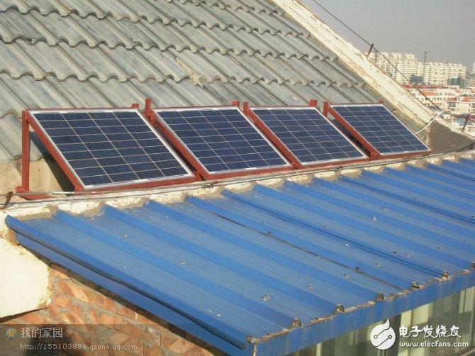 如何自己安装一套太阳能发电系统?