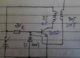 如何制作一个简易的特斯拉线圈来点亮节能灯