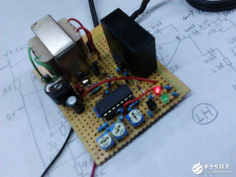 如何制作一款蓄电池自动充电控制器?