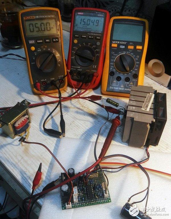 如何制作一台300W的电子负载?