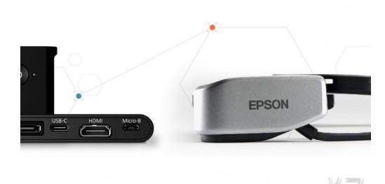 爱普生推出两款AR眼镜,可以与HDMI、USB-C配合使用,实现最佳兼容性