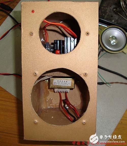 如何用茶叶盒做一个立体声小音箱?