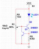 如何制作一个简易的USB调光照明灯?