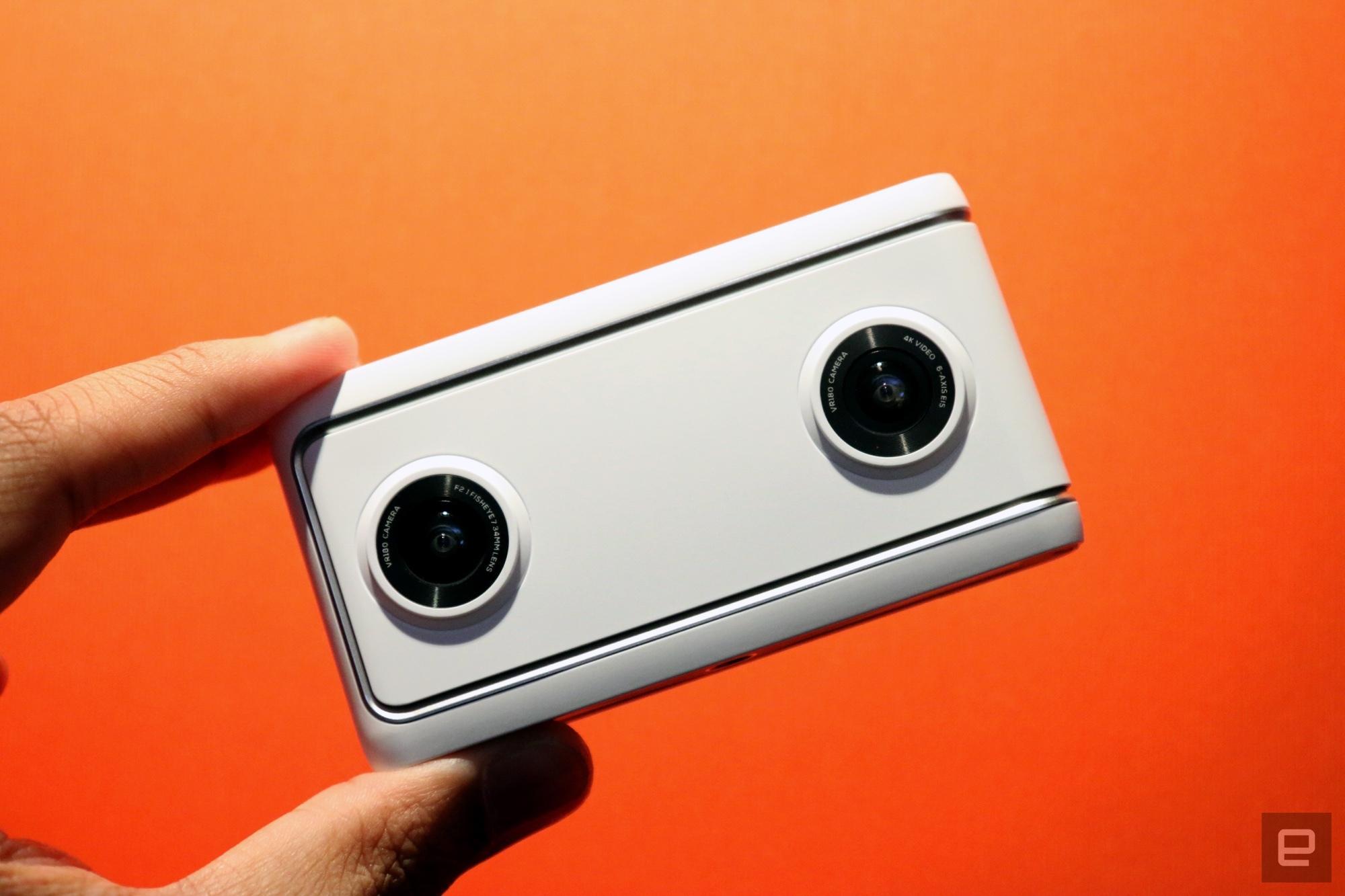 谷歌携同联想和小蚁科技,发布两款 VR180 相机