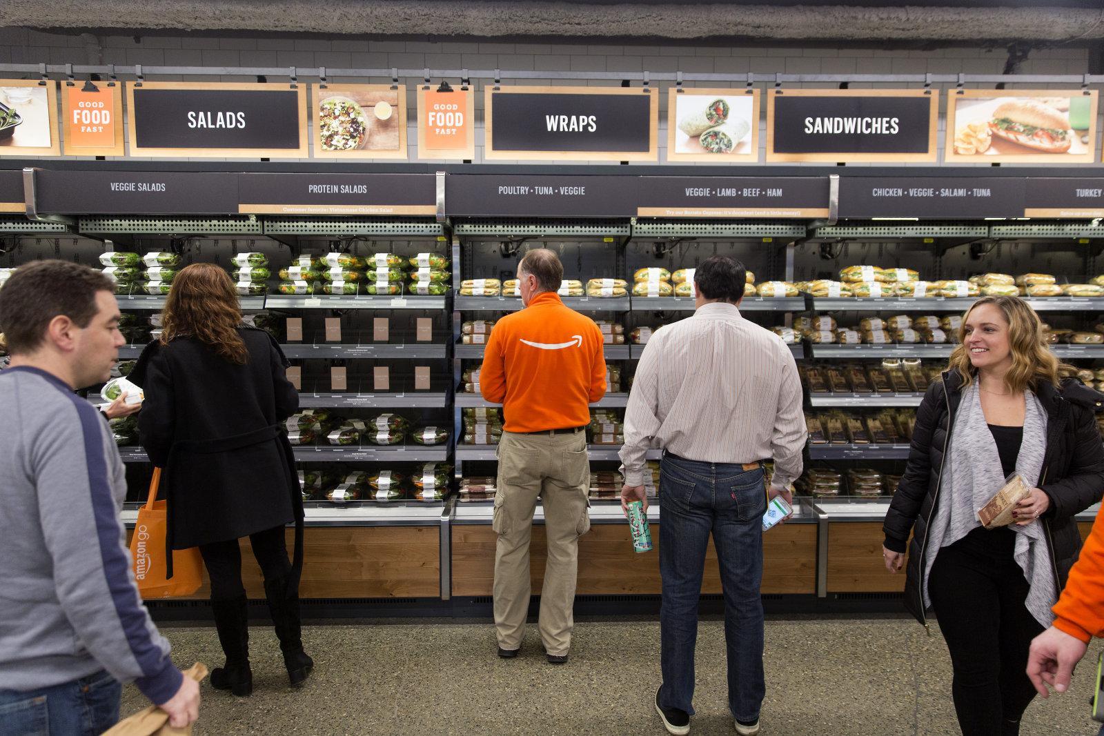 在Amazon Go 全自动超市购物是一种什么样的体验?