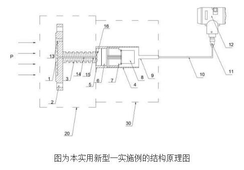 【新专利介绍】高温远传压力差压变送器