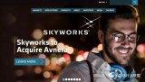 Skyworks30亿收购ASoC芯片商Avne...