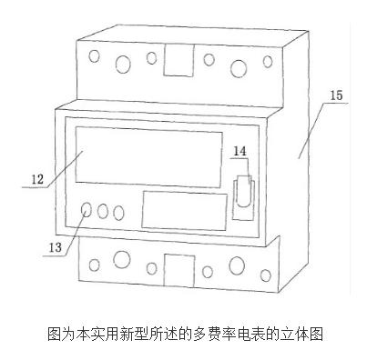 【新专利介绍】一种多费率电能表