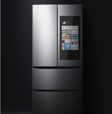 云米推出21Face系列,大屏幕AI人工智能冰箱