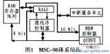 如何设计一个16位的嵌入式微控制器?