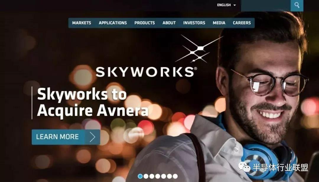 Skyworks30亿收购ASoC芯片商Avnera,提升Skyworks无线连接技术能力