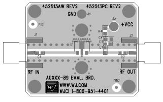AG402-89异质结双极晶体管放大器详细数据手册免费下载