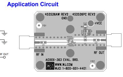 AG203-63异质结双极晶体管放大器详细数据手册免费下载