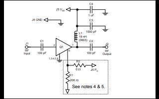 TQL9062具有关断高线性增益放大器详细数据手册免费下载