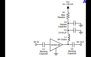 AG403-89异质结双极晶体管缓冲放大器的详细数据手册免费下载
