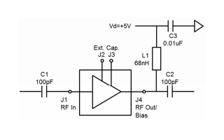 TGA428高线性低噪声放大器的详细数据手册资料免费下载