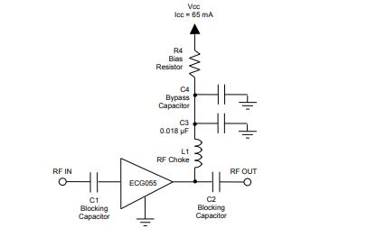 ECG055B-G 通用缓冲放大器的详细数据手册免费下载