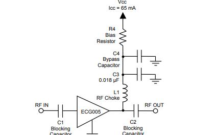 ECG005通用缓冲放大器的详细数据手册免费下载
