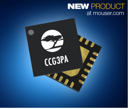 贸泽备货通过Quick Charge 4认证的Cypress CCG3PA控制器 支持智能手机快速充电