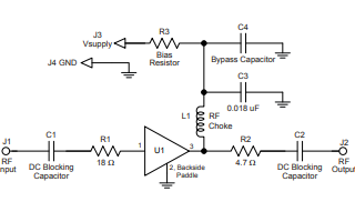 ECG003B-G异质结双极晶体管增益放大器详细数据手册资料免费下载