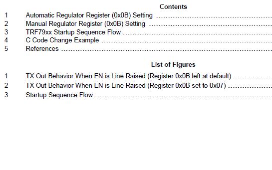 TF7960,-60A启动程序的管理详细资料免费下载