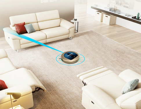 斐纳TOMEFON扫地机器人:人性化设计,大大减轻了用户的生活压力