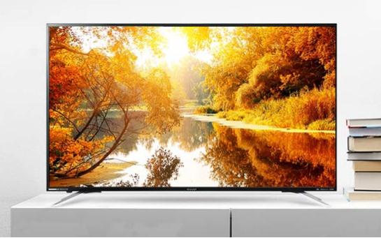 夏普60吋大屏高清电视机,让您有身临其境的视觉享受