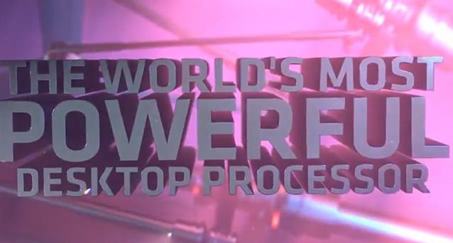 AMD宣称 2990WX 是世界上最强大的桌面处理器