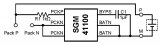 圣邦微推出了两款迷你尺寸、超低功耗单节小微电池保护电路