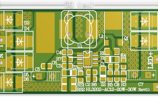 ET-HL3202-AC12-20W-30W升压恒流交流输入驱动器的数据手册免费下载
