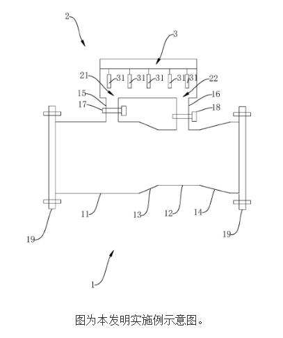 【新专利介绍】一种管网水质检测装置及方法