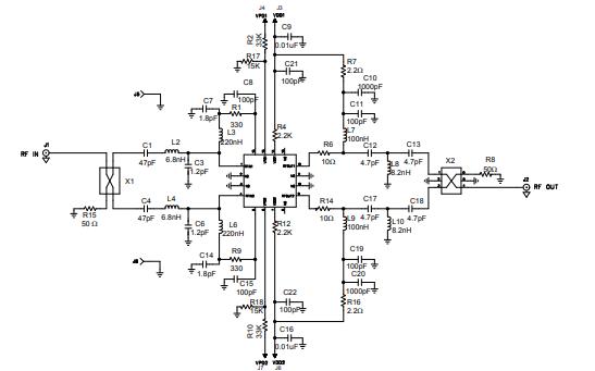 TQL9066双低噪声放大器的详细数据手册免费下载