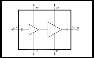 TGA2614-SM S波段高增益低噪声放大器的详细数据手册免费下载